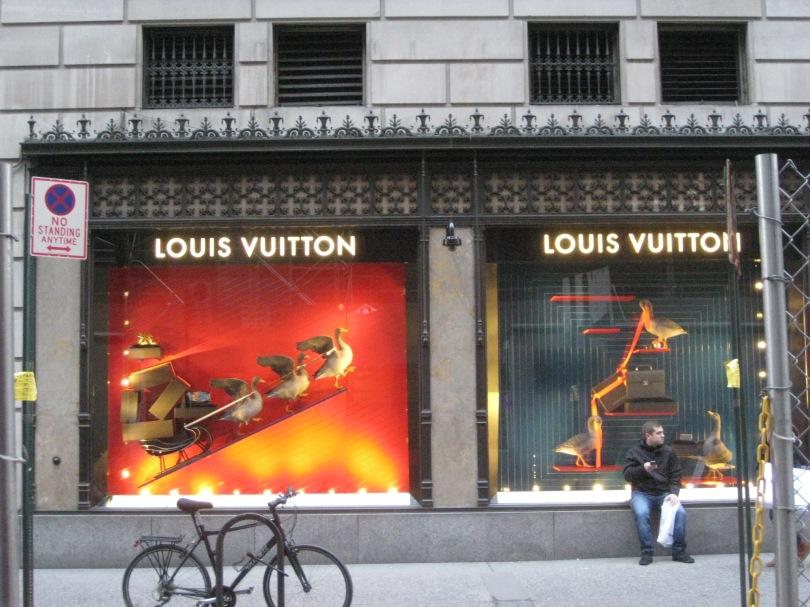 Manhattan shop window