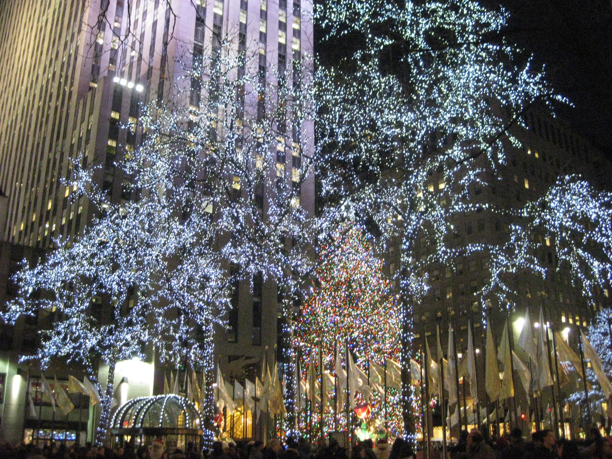 Christmas Lights New York