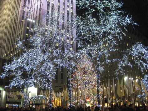 Christmas Lights in Manhattan