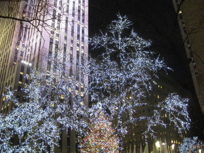 Christmas Manhattan LIghts