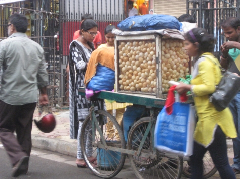 Calcutta street food