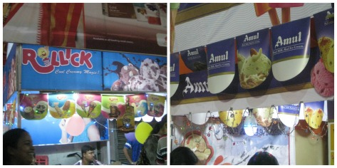 Rollick and Amul Ice Cream!