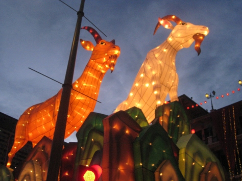 The Year of the Goat, 2015, Singapore