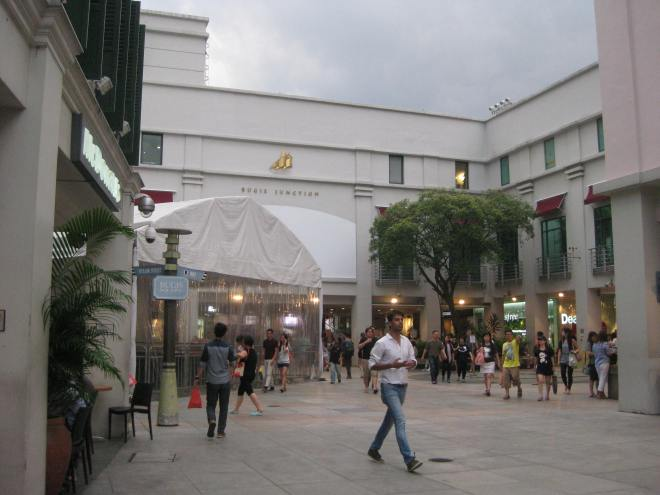 Bugis Junction, Singapore. It was a very cloudy afternoon.